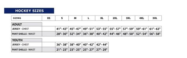 Size Charts Concrete Pond
