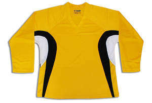 Tron SJ 200 Dry-Fit Jersey - Gold/Black/White