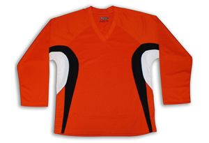 Dry-Fit Jersey - Orange/Black/White